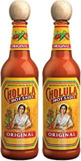 Cholula Original Hot Sauce, 2 - 12 Ounce Bottles, Gluten Free, Vegan, Low Sodium