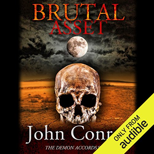 Brutal Asset audiobook cover art