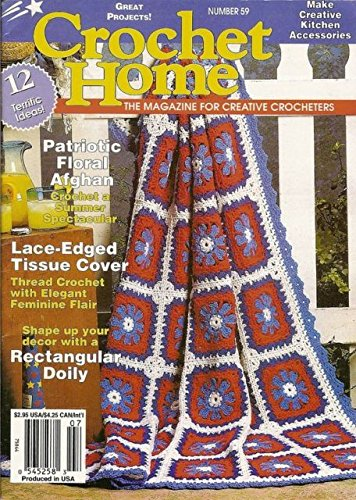 Crochet Home, The Magazine for Creative Crocheters, Number 59, June-July 1997
