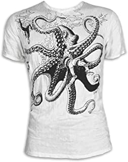 El Kraken Gigante Talla M L XL Pulpo Natural Buceo Yoga Boho Namaste Nadar Pescado Buda
