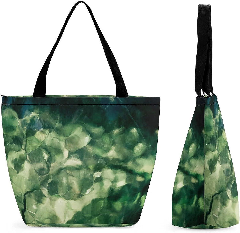 yanfind Shopping Bag for Ladies Bokeh Design security Shiny Glowing Cheap SALE Start Light