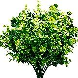 Kaptin 4 Piezas de arbustos Artificiales de plástico,...