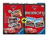 3 puzzle + 1 memory nella stessa confezione Per bambini a partire dai 3 anni Puzzle progressivi di diversa pezzatura: dal più semplice al più difficile! Perfetta Idea Regalo! Contenuto: Puzzle da 15, 20, 25 pezzi, 48 carte (24 coppie)
