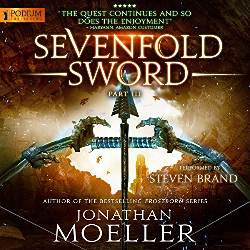 Sevenfold Sword, Part III audiobook cover art