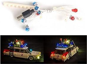 ARUNDEL SERVICES EU LED Light Up Kit para lego Ghostbusters Ecto-1 21108 Kit de luces Lego Led lego luces luces lego Bloques de construcción Compatible con Lego Cazafantasmas