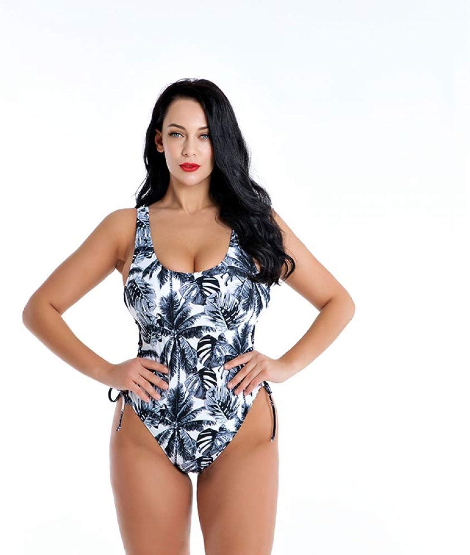 LXKDYYY Women One Piece Swimsuit Sports Plus Size Swimsuit Training Bathing Suit Professional Bodysuit Patchwork Monokini Black