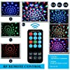 Disco Ball Disco Lights-COIDEA Party Lights Sound Activated Storbe Light With Remote Control DJ Lighting,Led 3W RGB Light Bal, Dance lightshow for Home Room Parties Kids Birthday Wedding Show Club Pub #5
