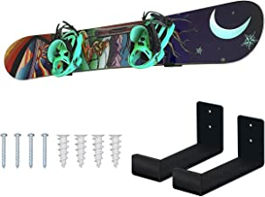 Sponsored Ad - Mind and Action Solid Aluminum Snowboard Rack,Ski Wall Mount Display,Home and Garage Snowboard Storage