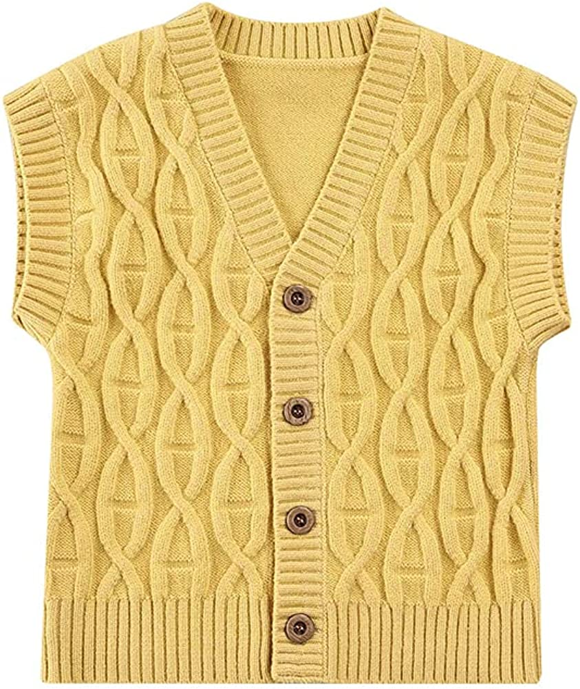 Toddler Infant Baby Girl Boy Sweater Knit Safety and trust 35% OFF V-Neck Cable Cardigan