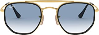 Ray-Ban Men's Sunglasses Marshal II, Gold/Blue