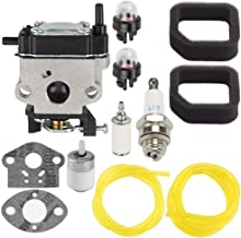 WYC-7 Carburetor for Toro 51944 51945 51946 51947 51948 51952 51954 51955 51956 51957 51958 51972 51974 51975 51976 51977 51978 51998 51984 51985 51986 Trimmer with Air Filter Tune Up Kit
