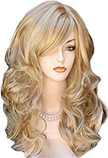 Hairpieces Hair Extension Wavy Lace Front Wig Dark Root Shoulder Length Natural Wave Short Synthetic Short Hair Female Hair Weave (Color : 02, Size : Free)