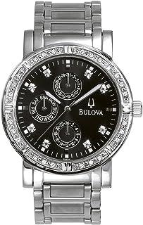 ブローバMen 's 96e04Diamond Multifunction Watch