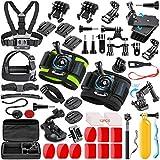 SmilePowo 51-in-1 Sport Camera Accessories Kit for GoPro Hero 8 Max 7 6 5 4...