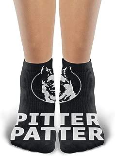 JOELEWIS Pitter Patter Mens & Womens Classic Sport Socks White