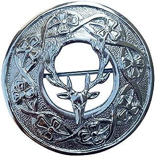 Scottish kilt PINS Dragon Gallois Divers Design Finition Chrome//Highland Kilt Pin