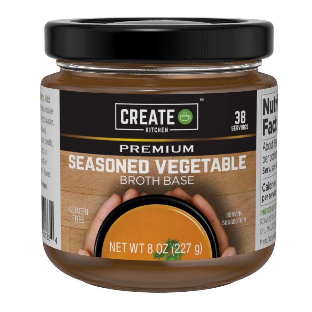 Create Kitchen 2-Pack Mail order cheap Superior - Premium Base Vegetable 8oz jars
