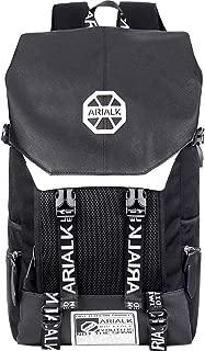 [ARIALK] リュック メンズ リュックサック ボディバッグ セット USBポート 盗難防止 通学 通勤 学生 かぶせ型 レインカバー付き …