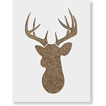 3 inches Deer Stencil 103