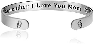 remember i love you mom bracelet