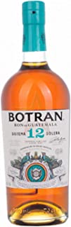 Botran Ron Añejo 12 Sistema Solera 40,00% 0,70 lt.