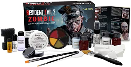 Mehron Inc Zombie All-Pro Makeup Kit Resident Evil 2 Standard