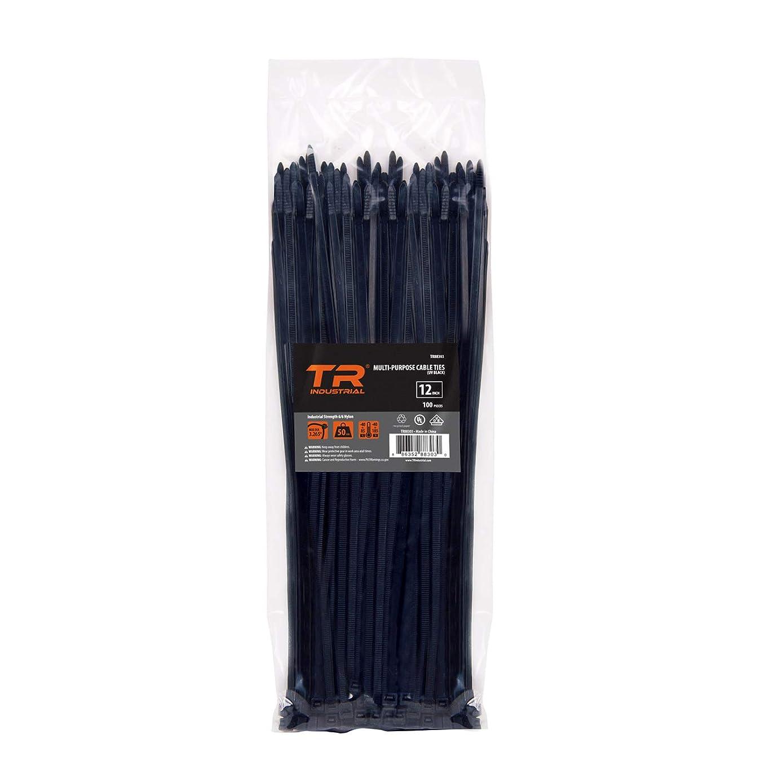 TR Industrial TR88303 Multi-Purpose Cable Ties (100 Piece), 12