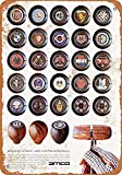 Henson 1970 Amco Shift Knobs Nostalgic Art Beautiful Traditional Tin Sign Metal Painted Modern Wall Decoration Art Poster Game Room House Rules Street Sign