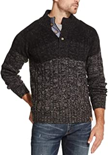 Mens Ombre Knit Sweater
