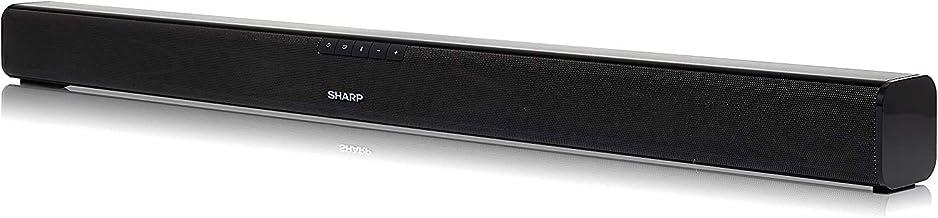 Sharp HT-SB110 - Barra de sonido cine en casa (Bluetooth, HDMI, ARC/CEC, 90 W de potencia, 80 cm) color negro