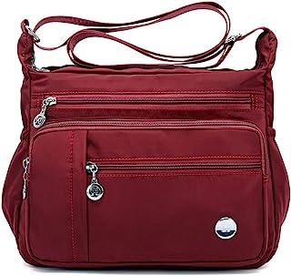 MINTEGRA Damen Schultertasche, geräumig, mehrere Taschen, Umhängetasche, Geldbörse, modischer Henkel