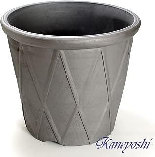 鉢 三河焼 KANEYOSHI 【日本製/安心の国産品質】 陶器 植木鉢 テラネット エンシャント 15号