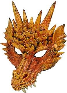 Popular 3D Dragon Mask Head Creative Party Costume Props Horror For Mardi Gras