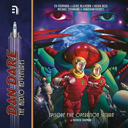 Dan Dare: Operation Saturn audiobook cover art
