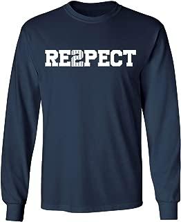 KINGS SPORTS Derek Jeter Retirement New York Captain Re2pect Men's Long Sleeve T-Shirt