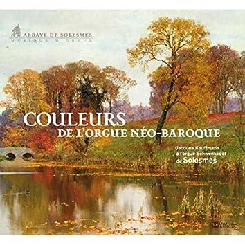 Boehm & Bach: Couleurs de l'orgue néo-baroque