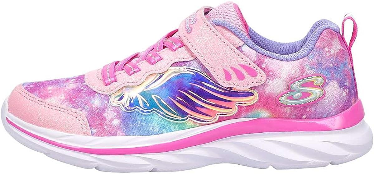 Skechers Unisex-Child Quick Kicks-Flying Beauty Sneaker