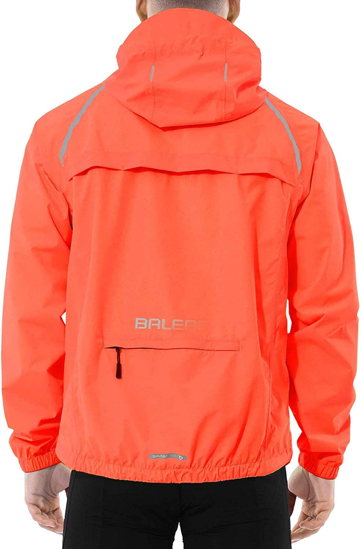 New product!! BALEAF Men's Cycling Running Jacket New Orleans Mall Windbreaker Refle Waterproof