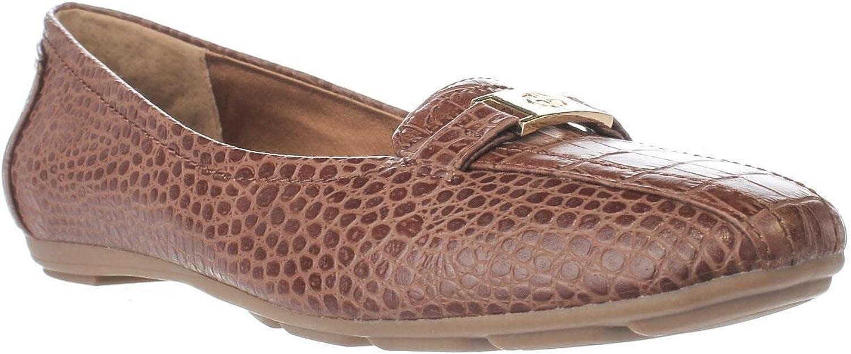 Giani Bernini GB35 Jileese Casual Loafer Flats, Nut, 7.5 US