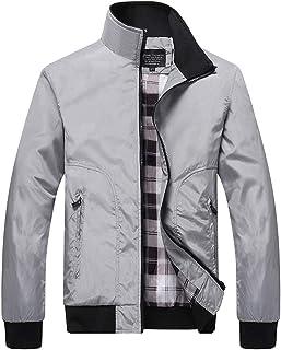 manadlian Unisex Felpa con Cappuccio Hoodie Tasche Coulisse Casual Baseball Jacket Militare Sweatshirt Pullover di Stampa ...