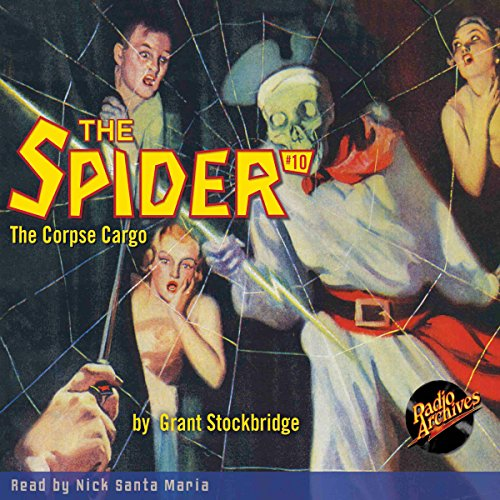 The Spider #10 copertina