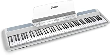 LAGRIMA LAG-570 Full Size Weighted Key Portable Digital Pian