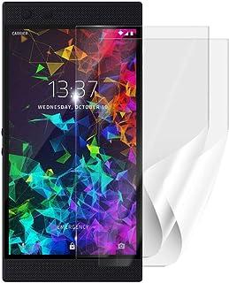 Skyddsfolie SCREENSHIELD för RAZER Phone 2 RZ35-0259 [2 stycken, 2 versioner] – täcker skärmen fullt ut vid användning med...