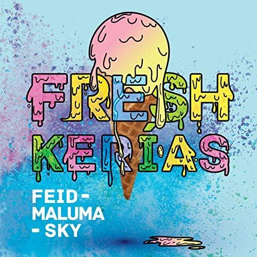 FEID, Maluma & Sky