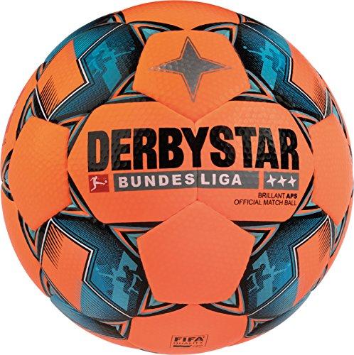 Derbystar Bundesliga Brillant APS Winter, 5, orange schwarz blau, 1801500729