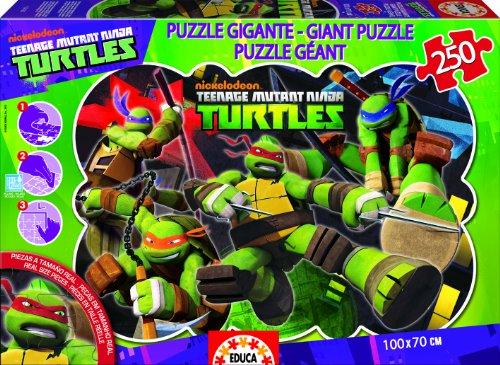 Puzzles Educa - Tortugas Ninja, Puzzle Gigante de 250 Piezas (15689)