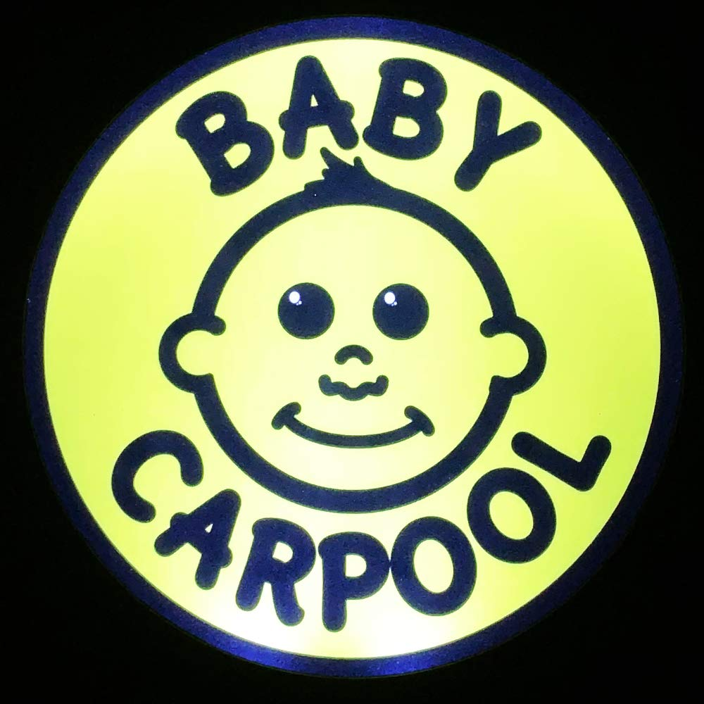 LED Baby Carpool Sign by Baby Heart, LED Baby on Board
