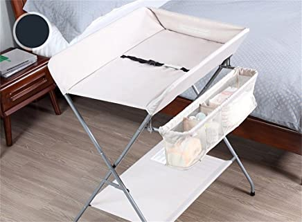 Ali  Baby Changing Table Touch Table Multifunction Finishing Table 0 3 Years Old Baby Collapsible Massage Table Nursing Desk Gray White Black Three Color Optional Suitable for People Over 165