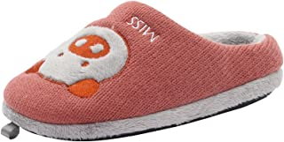 Kenroll Kids Cute Cozy Fleece House Slippers