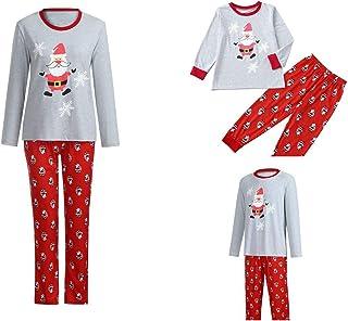 deefb69191 Matching Family Pajamas Christmas Santa Snowflake Pajamas Sets 2Pcs Xmas  Pajamas Set Sleepwear for Family Nightwear